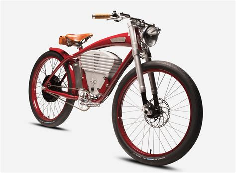 designboom e bike vintage electric tracker bicycle fuses modern luxury with