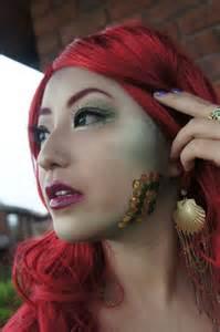 makeup tutorial little mermaid makeup tutorial the little mermaid misspixielulu
