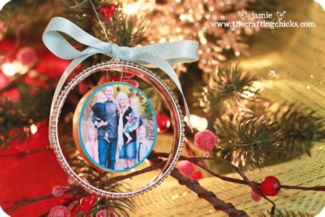 photo ornaments handmade photo ornaments fancy bangle style the crafting
