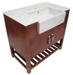 alfi brand ab36do 36 quot single farm sink bathroom vanity
