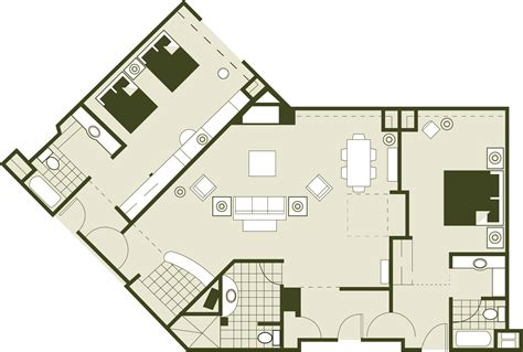 rosen shingle creek floor plan luxury orlando meeting convention hotel executive