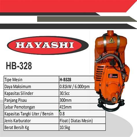 Mesin Potong Rumput Dibawah 1 Juta harga jual hayashi hb 328 mesin potong rumput gendong