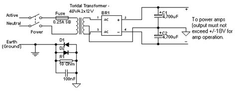 wiring toriodal mains transformers