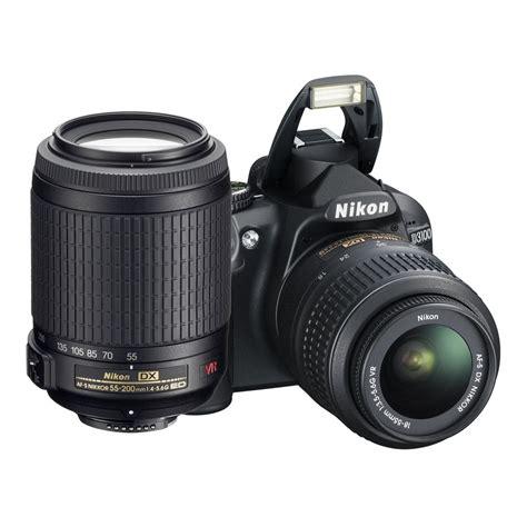 Nikon D3100 Vr nikon d3100 kit 18 55mm vr 55 200mm vr