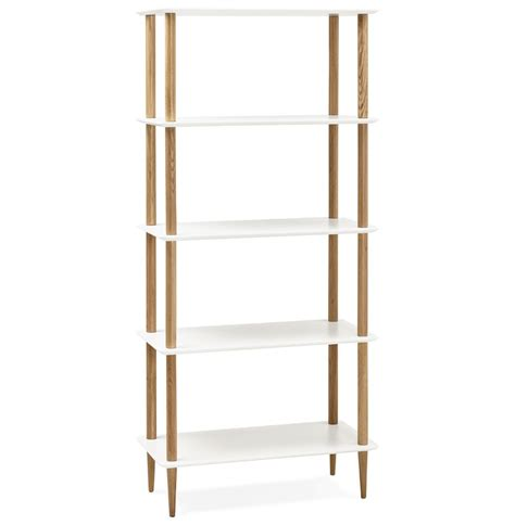 etagere design etag 232 re design rack blanche en bois style scandinave