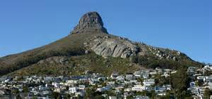 Flat Roof table mountain national park mountain in south africa