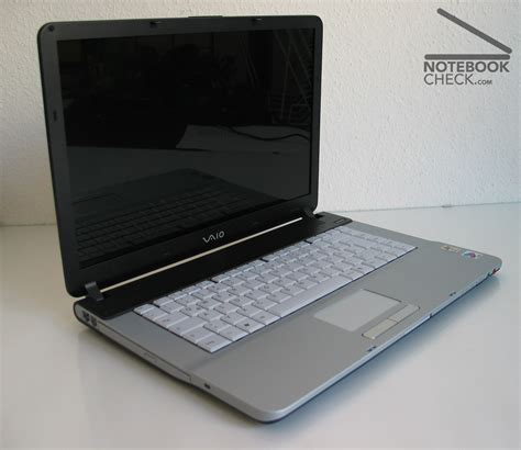 Sony Vaio review sony vaio vgn fs485b notebook notebookcheck net reviews
