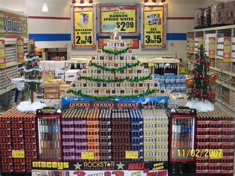 energy drink 7 words view media 4209 largest rockstar display in the world