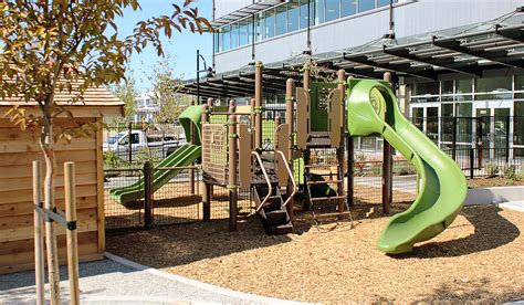 Landscape Structures Playsense Broadway Tech Daycare Renfrew Station Ymca Childcare