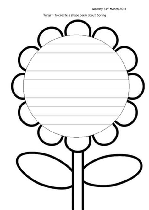 shaped writing template shape poem presentation and worksheet by joop09 teaching