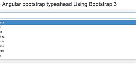 Tutorial Typeahead Bootstrap | js tutorials javascript tutorials and jquery tutorials