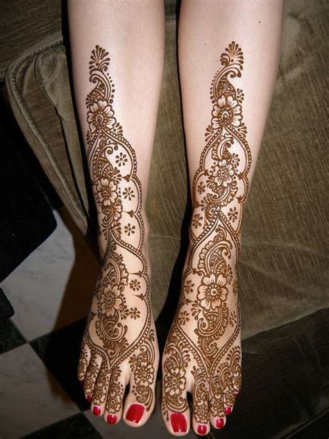 henna design for leg amehndidesign top 10 floral mehndi designs for women