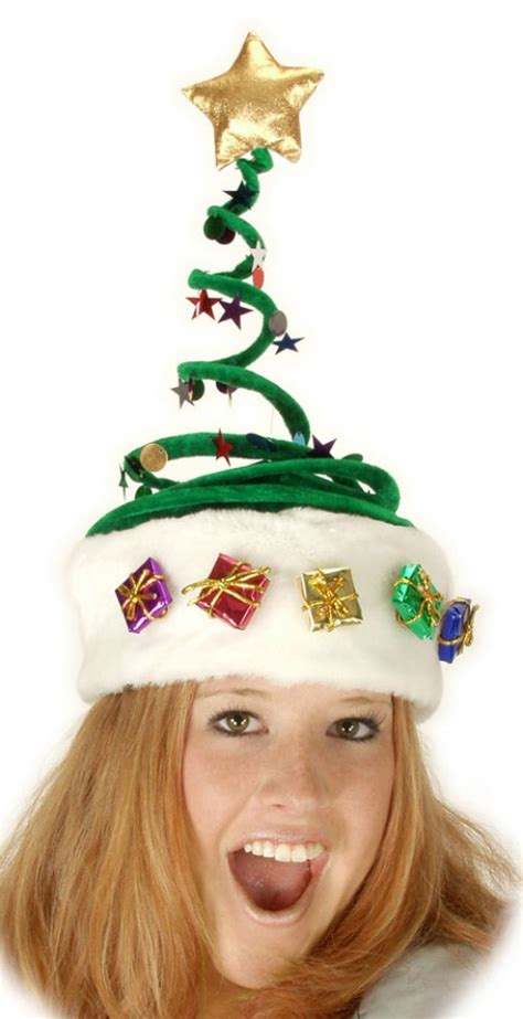 animated christmas tree hats novelty hats trees reindeer turkeys elves and other assorted wear hubpages