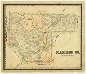 map of karnes county karnes county legacy of