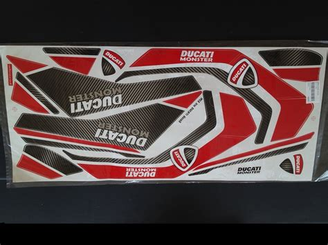 Ducati Aufkleber Set by Ducati Decal Sticker Set Msx Grom