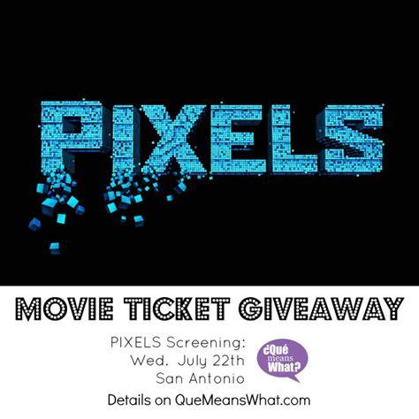 San Antonio Giveaways - pixels movie screening ticket giveaway san antonio 191 qu 233 means what