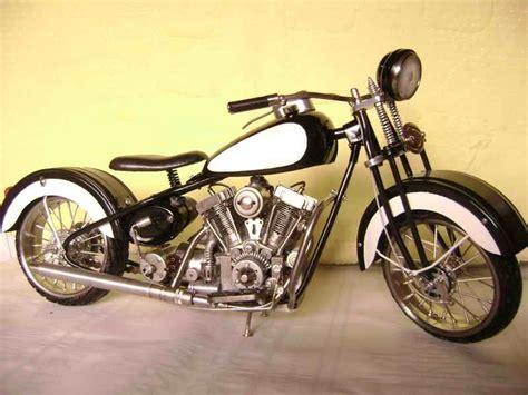 miniatur motor miniatur sepeda motor dari limbah