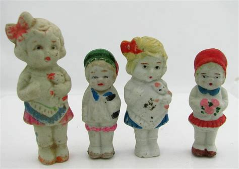 antique bisque doll made in japan antique made in japan small frozen bisque dolls