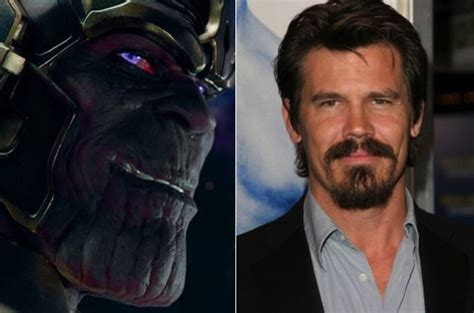 actors who could play thanos josh brolin will play thanos in marvel s guardians of the