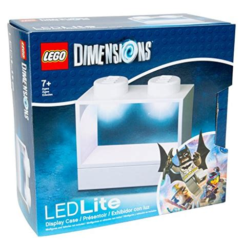 item display dimensions lego dimensions led lite display for minifigures wh