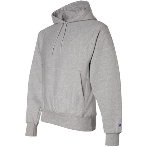 Oxford Grey chion s101 weave hooded sweatshirt oxford