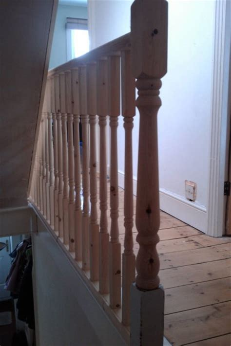 whats a banister newel post installation