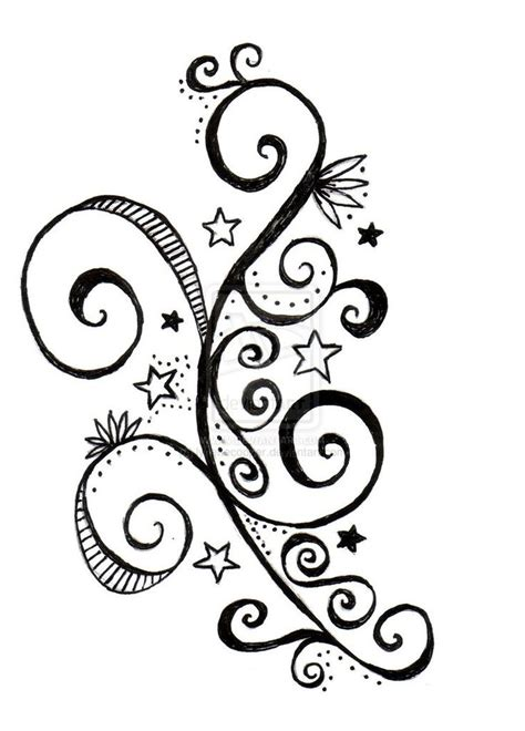 swirl design tattoos 78 best scrolls swirls images on arabesque
