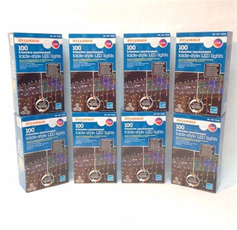 sylvania 300 clear icicle lights icicle lights shop collectibles daily