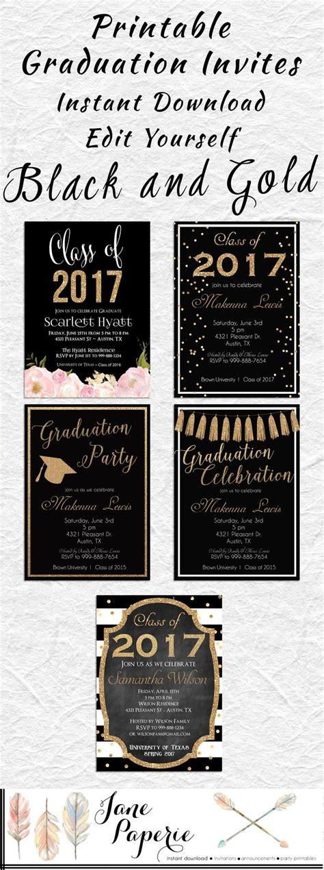 2018 photos templates graduation party invitation 7x5 in horizontal