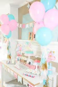 baby shower home decorations 36 cute balloon d 233 cor ideas for baby showers digsdigs