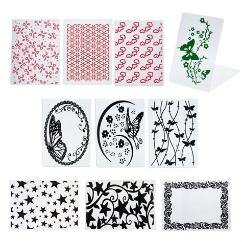 craft paper card newest variety of models smallplastic embossing folders