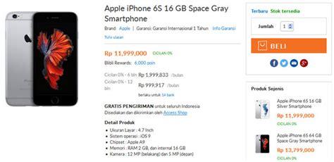 Termurah Apple Iphone 6s 16gb beredar iphone 6s dan iphone 6s plus ilegal di indonesia