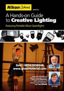 tutorial lighting fotografi teknik lighting outdoor jual tutorial termurah dan