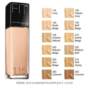 Foundation Maybelline Indonesia review maybelline fit me matte poreless foundation