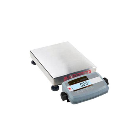 ohaus bench scale ohaus d51p10qr5 defender 5000 bench scale capacity 10kg