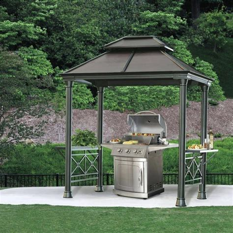 hardtop grill gazebo 25 ideas of metal hardtop grill gazebo