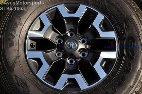 Toyota Oem Tires 2016 Toyota Tacoma Oem Factory 16 Quot Trd Offroad Wheels