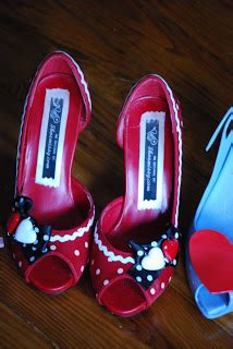 Shoe And Dolly Dagger Team Up For An Exclusive Shoe Range by Shoe Daydreams Color Study Hearts