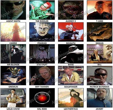 film villains quiz 100 pics movie villains level 21 level 40 answers apps
