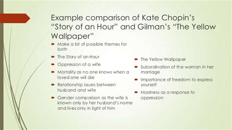 themes the story of an hour literary analysis essay of the story of an hour