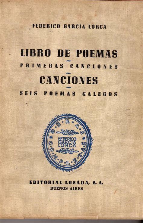 libro federico garcia lorca a libro de poemas federico garc 237 a lorca 200 00 en mercado libre