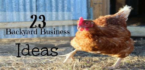 Backyard Business Ideas 23 Backyard Business Ideas To Create From Your Favorite Hobbies Farm Fit Living