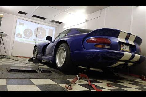 dodge viper   dyno     horsepower   autotrader