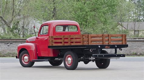 stake bed 1951 ford stake bed pickup s45 salmon brothers collection 2012