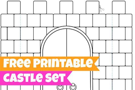 castle cut out template 16 best photos of 3d castle templates paper cut out 3d