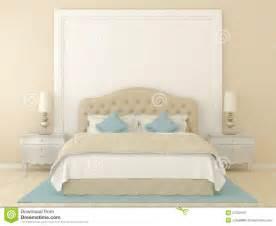 beige bedroom stock photography image 27032912