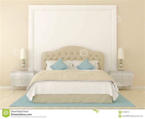 Blue And White Bedroom Decorating Ideas beige bedroom stock photography image 27032912