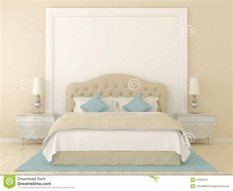 beige bed beige bedroom stock photography image 27032912