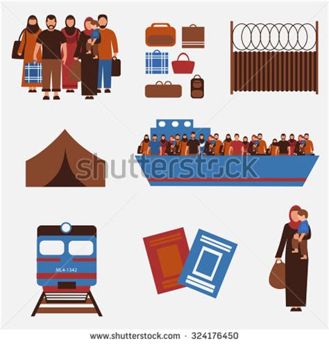 refugee boat clipart the group of refugees clipart panda free clipart images