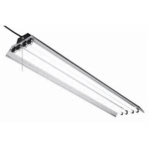 lowes fluorescent light fixtures shop utilitech linear common 4 ft actual 48 5 in at